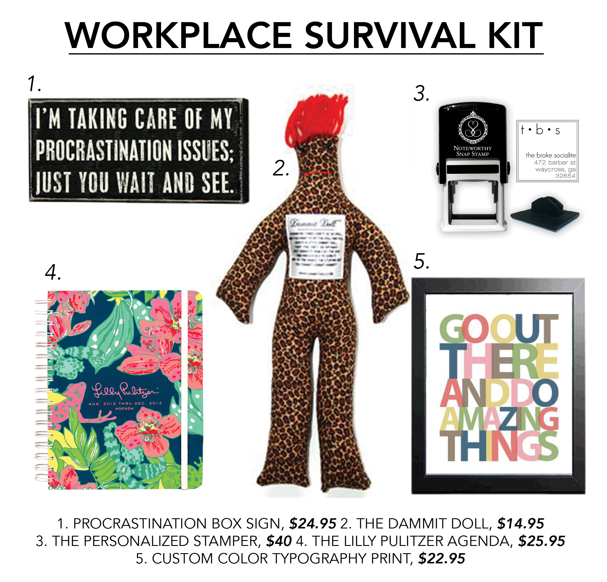 A Swoozerific Workplace Survival Kit – The Land of the Swoo