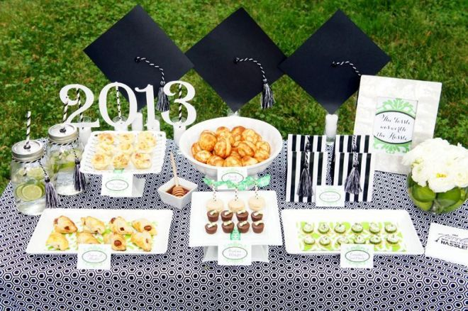Graduation Party Table