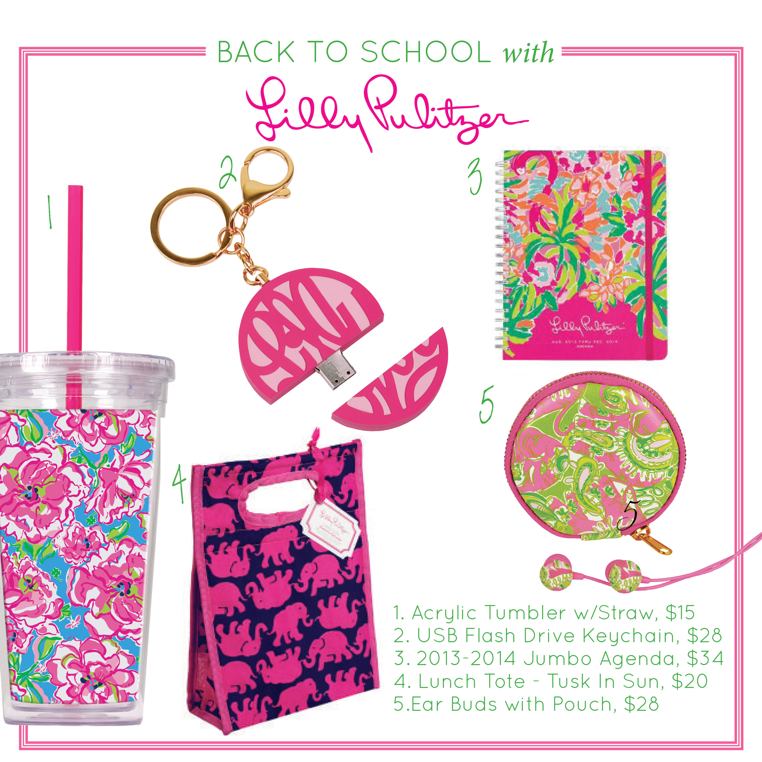 Back To Campus With Lilly Pulitzer 2013